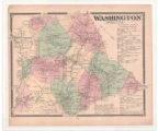 Plate 05, Washington, NJ, Beers 1868 Atlas