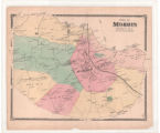 Plate 09, Town of Morris, NJ, Beers 1868 Atlas
