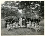 Leafcroft School, girls dancing, 06/07/1927, Whippany, NJ