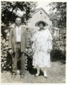 Mr. and Mrs. David Cleveland of Evergreen Avenue, 08/20/1928, Morristown, NJ