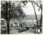 Burnham Park swimming pool, 07/07/1929, Morristown, NJ