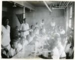 Group of children at the colored Baptist church, 07/29/1929, Morristown, NJ