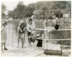 Burnham Park pool, 06/13/1931, Morristown, NJ