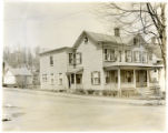 Mrs. Thomas Sands home, 129 Western Ave; street view of front and side; 05/28/1934; Morristown, NJ