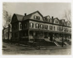 Clark Row, Morris Street, 12/21/1906, Morristown, NJ