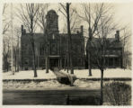 Morris County Courthouse, view from High Street, 03/03/1923, Morristown, NJ