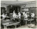Boys in workshop, 06/30/1931, Northfield Center, NJ
