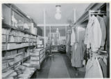 George E. Brown store interior, 05/20/1916, Morristown, NJ