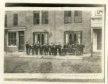 Independent Hose boys and the Coffee Mill engine, Market Street, 05/16/1913, Morristown, NJ
