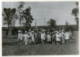 Children at Morris County Children's Home, 06/16/1923, Parsippany, NJ