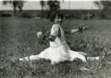 Helen Stellate in interpretive dance, Morris County Children's Home, 06/16/1923, Parsippany, NJ