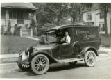 Chatham Laundry, Dodge delivery truck, Ridgedale Avenue, 06/22/1923, Morristown, NJ