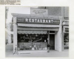 South Street Restaurant, owned by Joseph Finkelstein, 8/4/1924, Morristown, NJ