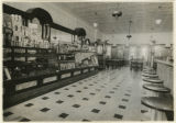 Blue Bird Candy Store interior, 5/5/1925,  Speedwell Avenue, Morristown, NJ