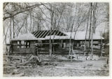 Log House of E. Holly and J. Holly, Madison Ave., 04/26/25, Convent, NJ