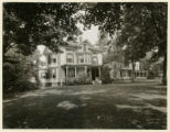 Washington Street, houses, owned by Dr. Reed, 9/5/1933, Morristown, NJ