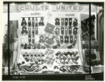 Schulte United window display, 11/11/37, Morristown, NJ