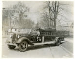 Chatham Fire Department's new engine, 04/04/35, Chatham, NJ
