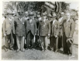 Spanish American War veterans on Memorial Day, 05/30/34, Morristown, NJ