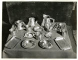 Silver Set, owned by Mr. Meddle, 06/11/34. Mountain Lakes, NJ