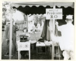 Morris County Fair typewriter exhibit, 09/11/36, Troy Hills, NJ