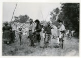 """Colonists"" and Indians at a pageant, 07/05/26, Chatham, NJ"