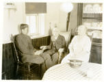 Captain Walker of the Salvation Army with Mr. and Mrs. McGown, 08/03/29, Morristown, NJ