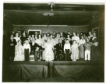 Tri-C. Club cast, First Presbyterian Church, 06/15/33 Morristown, NJ