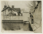 Court Street, old reservoir at 1/9/1903, Morristown, NJ