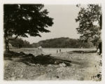 Jones Woods reservoir, taken at spring inlet, 10/13/1905, Morristown, NJ