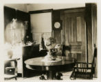Dining room, 34 King street, 12/3/1905, Morristown, NJ