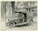Red Cross Car, Miss Margery Pierson, driver, 2/28/1924, Morristown, NJ