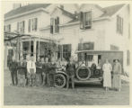 Red Cross Car and members, with disabled soldiers, 5/18/1924, Morristown, NJ