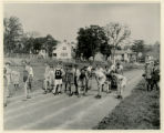 Boy scout rally at high school, 6/28/24, Morristown, NJ