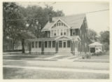 Mill street house, H.H. Van Natta home, 7/28/1924, Morristown, NJ