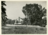 Hamilton road, house, Charles W. Ennis residence, view from side lot, 7/30/1924, Morristown, NJ