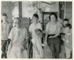 Women invalids in wheelchairs, 8/12/1925, Whippany, NJ