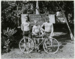 Seaton Hackney Endurance Bicycle Team, 8/3/1930, Morristown, NJ
