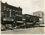 Park Place North, storefronts, 6/11/1937, Morristown, NJ
