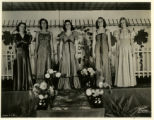 Schulte United Store, models in fashion show, 9/15/1938, Morristown, NJ