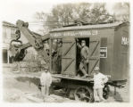 Vehicles, Marion Steam shovel, New Street to Morris to Reeve and Burr, 6/10/1913, Morristown, NJ
