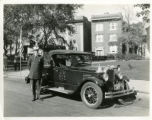 Vehicles of Morristown, Morristown Fire Department, Chief John J. Cullianan's new car, 10/12/1926,...