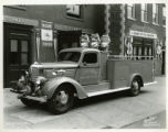 Fire searchlight truck for the Morristown Fire Department, 10/12/1938, Morristown, NJ