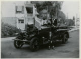 Washington Engine Company, new auto pumping engine and men, 9/13/1918, Morristown, NJ