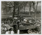 Tanks unloaded before crowd, 4/23/1919, Morristown, NJ