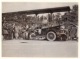Fire truck after accident, Hillside, Morris Township, 05/09/1925,  Morristown, NJ