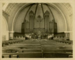 First Presbyterian Church interior, 4/11/1914, Morristown, NJ