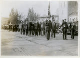 Parade with Chief Warren McVay and John Smith, 10/12/22, Morristown, NJ