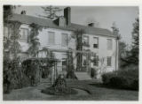 Maculloch Ave., Mrs. Otis Post House, rear view, (Macculloch Hall) 11/13/1922, Morristown, NJ