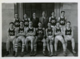 Clinton Vance, High School Basketball Team, 3/15/1923, Morristown, NJ